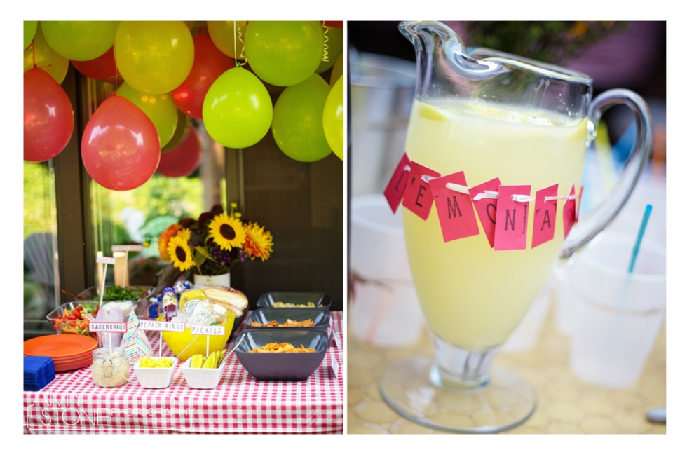 BBQ Ideas - Birthday - Balloons - Amy Stone Photography