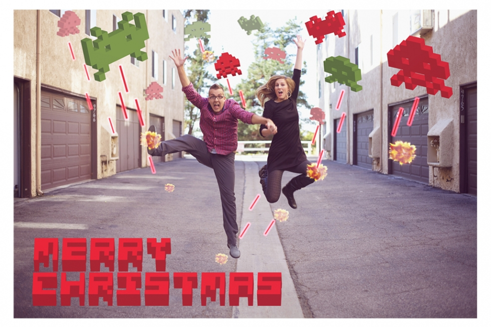 Christmas+Card+Space+Invaders+Amy+Stone+Photography
