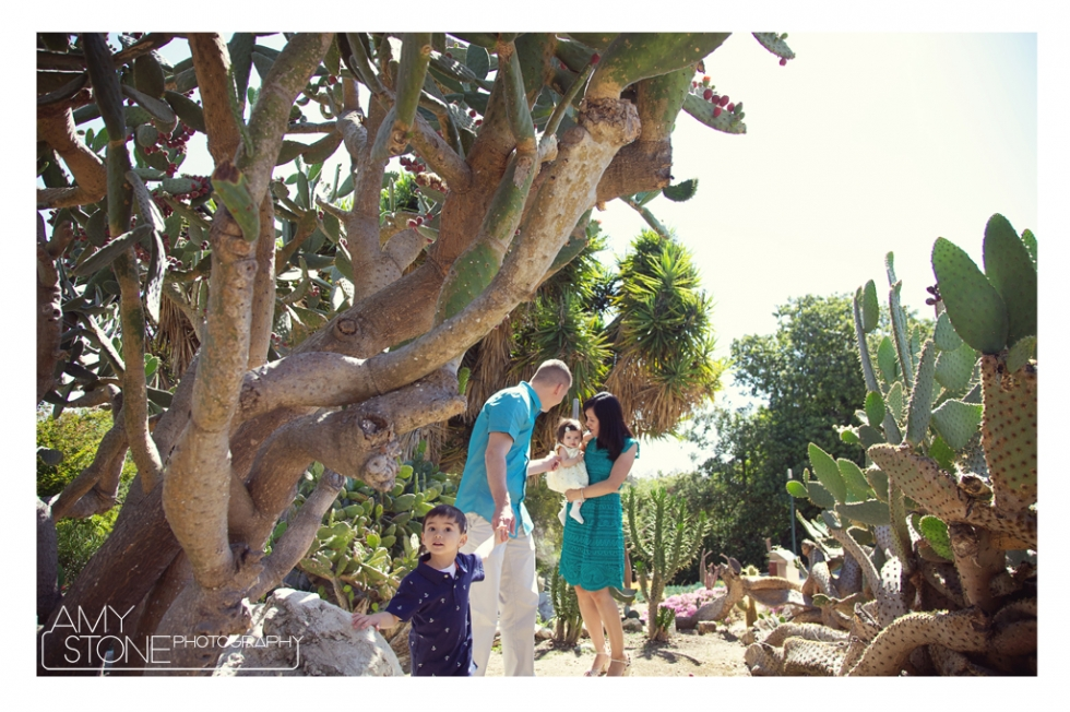 South Coast Botanic Gardens Palos Verdes Family Photography