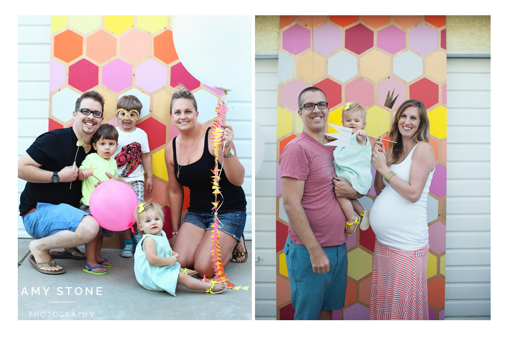 diy geometric birthday party featured on hostess with the mostess